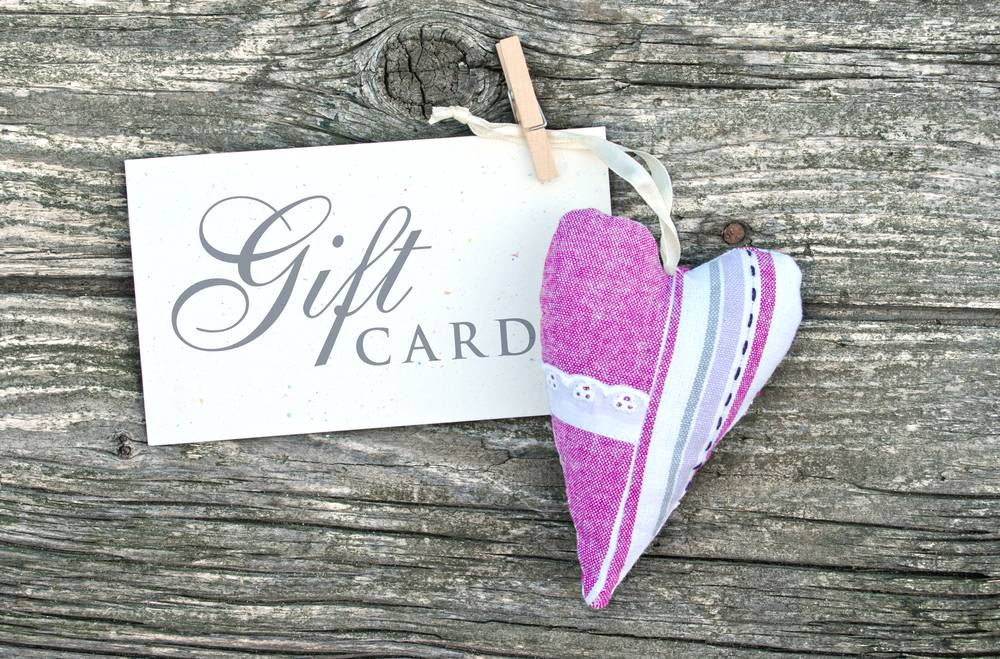 Consider how you use gift vouchers to make a connection and an impact