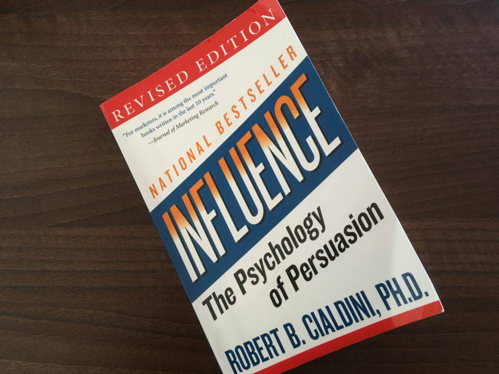 Influence book on customers
