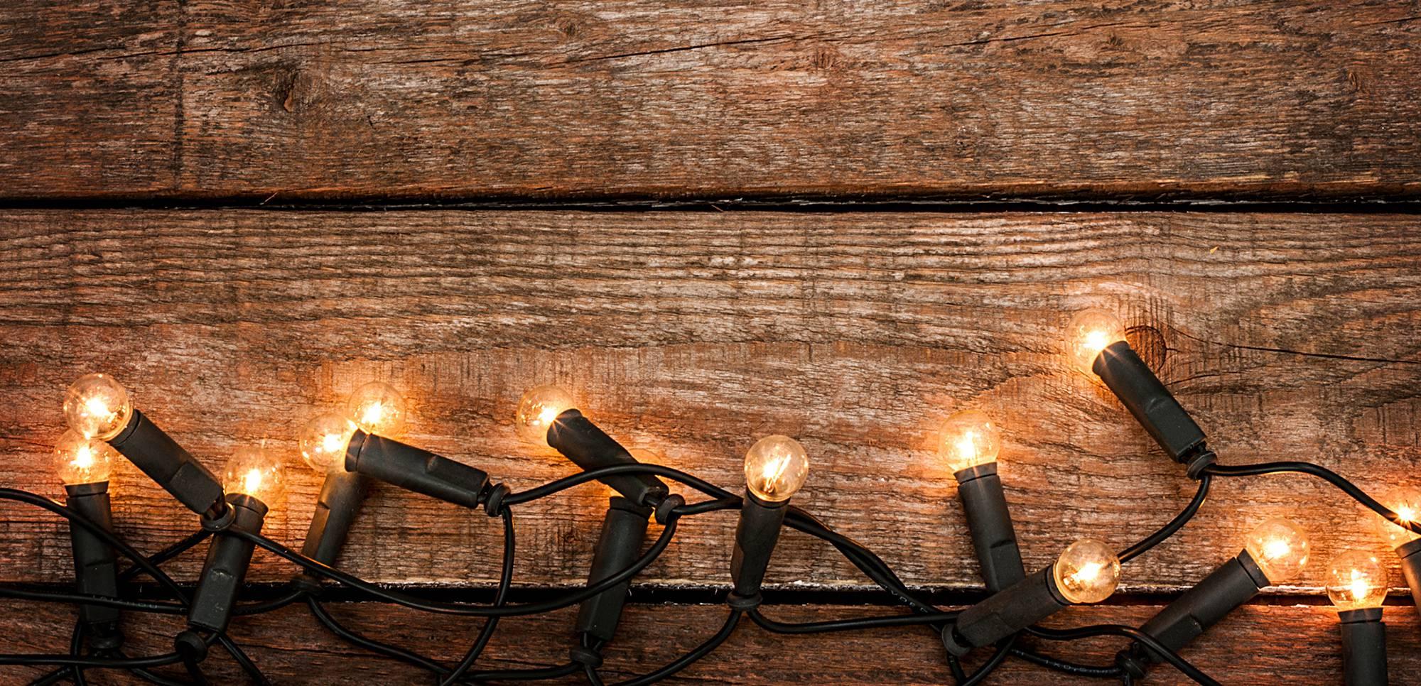 Christmas lights - sharing Christmas facts across the world