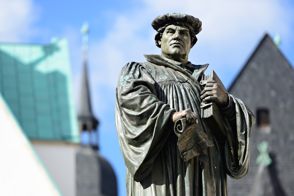 Martin Luther was an early marketer, it seems.
