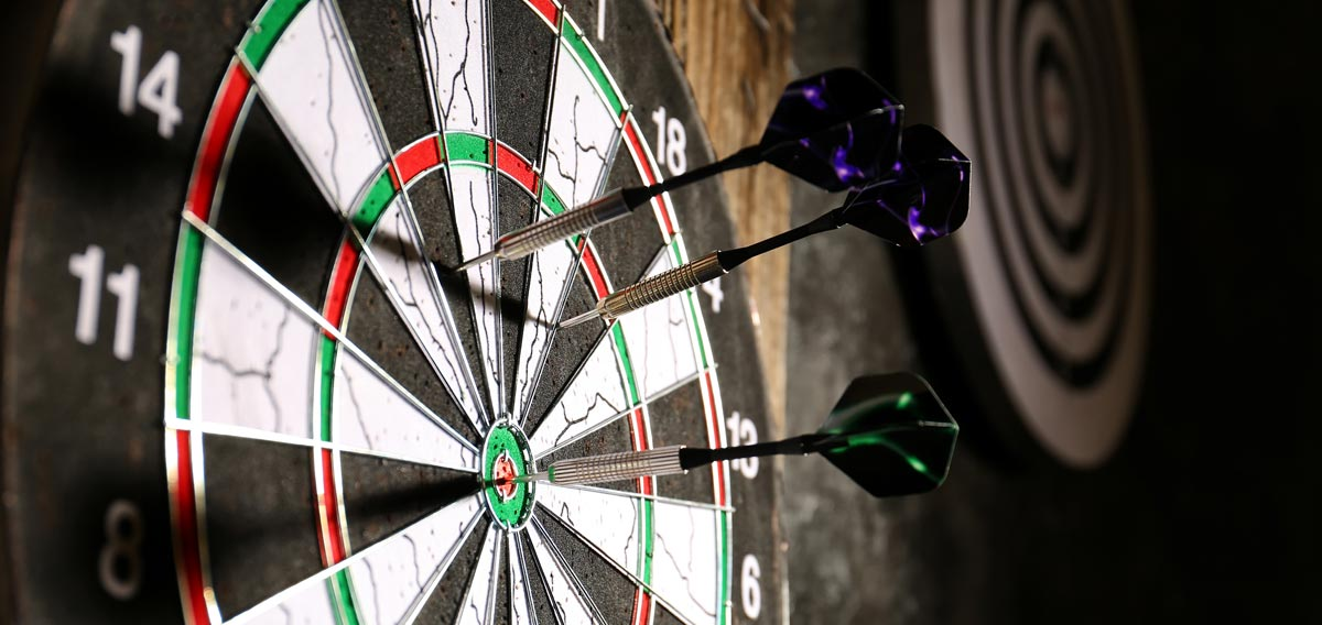 Your marketing should be like a dart board